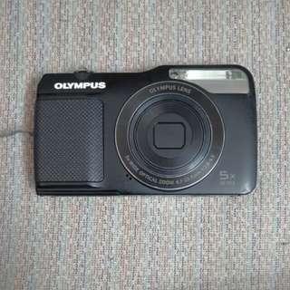 Olympus VG-170 14mp slim digital camera black + 8gb memory card #MidJan55