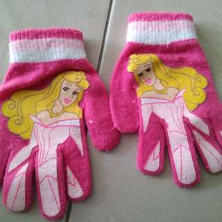 Princess snow gloves