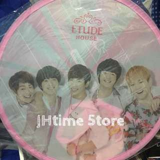 SHINee - Etude House 限量扇子