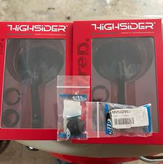 Highsider Montana Bar End Mirror