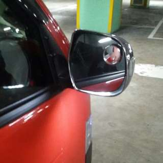 Hiace Chrome Side Mirror Cover With Signal Light & Below Light