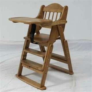 Baby High Chair (wood)