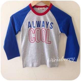 BN PDI Padini Boys Longsleeve T'shirt Tops