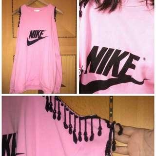 Korea Nike Beads Jumper