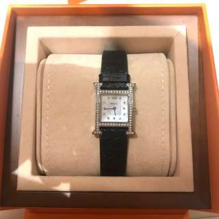 Hermes H hour Diamond Watch