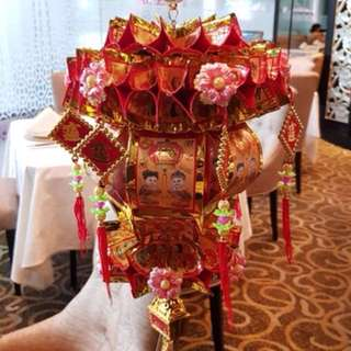 Home made Chinese New Year lantern decoration