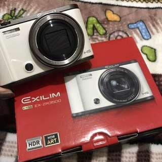 售 Casio ex-zr3500 白色