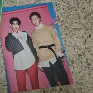 GOT7 Jinyoung and JB (JJP) Arrival photocard
