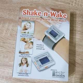 [百元]Shake-n-Wake 腕錶型 震動鬧鐘