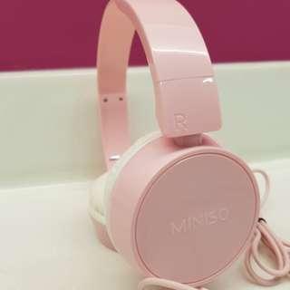 Comfortable Headphone Miniso - New