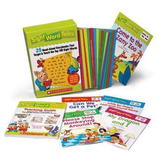 💥 NEW - Sight Word Tales: 25 Read-Aloud Storybooks & CD Set That Target & Teach the Top 100 Sight Words
