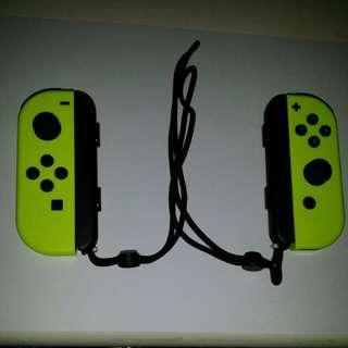 Switch JoyCon Joy-Con 黃色手制