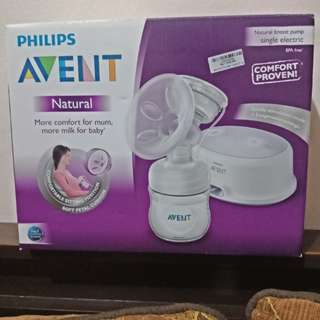 Philips Avent Natural Single Electric Breastpump