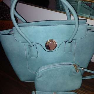 Brand New Turquoise Tote