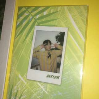BTS OFFICIAL SUMMER PACKAGE SELFIE BOOK