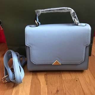 Pastel blue small crossbody bag