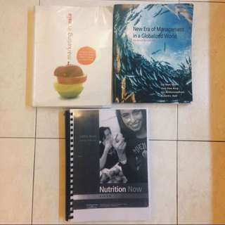 Textbooks (Nus, uni)