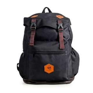Tas Punggung Pria - Arcio Denver Black - Tas Ransel - Tas Backpack