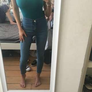Miss Selfridge High-waisted Skinny Jeans
