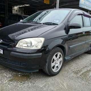 Hyundai Getz 1.3cc, Auto year 2005