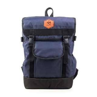 Tas Punggung Pria - Arcio Fred Navy - Tas Ransel - Tas Backpack