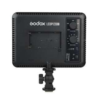 Godox Ultra Slim LEDP120C LED Light 3300-5600k Adjustable For Camera Video