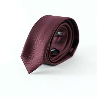Necktie Business Casual Formal Tie Marks Spencers Dark Red