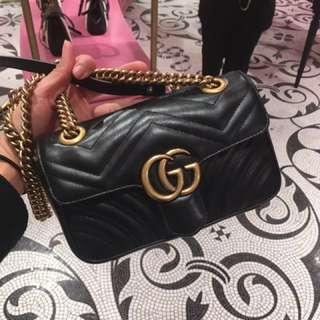 Gucci GG marmont 專店代購 crossbody bag 斜咩袋