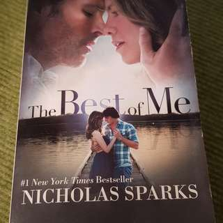 The Best of Me by Nicholas Spark (Paperback)
