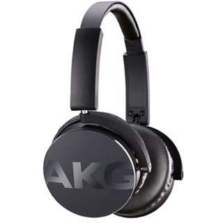 AKG Y50BT黑色無線藍牙耳機