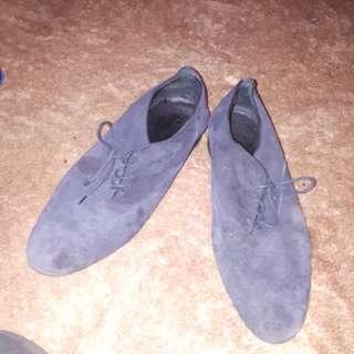 Zara Man suede shoes size 44