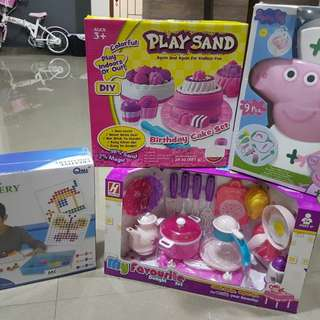 Christmas Brand new assortment of toys