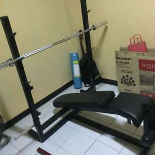 Bench Press Only RUSH!! 3in1 (Flat,decline,incline)