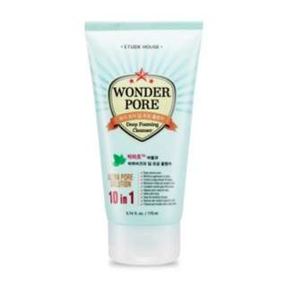 Free Mail Etude House Wonder Pore Deep Cleansing Foam 170ml