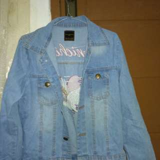 SALE!!Jaket Jeans Zara Konichiwa