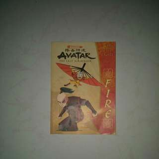 Avatar The Last Airbender Fire Book