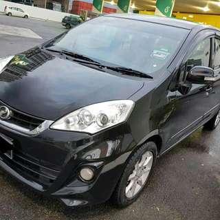 Perodua Alza 1.5 (A) EZi black colour