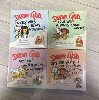 Dear God story book