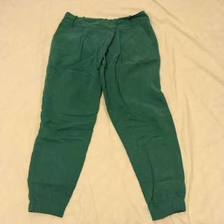 ZARA ankle cuffed pants
