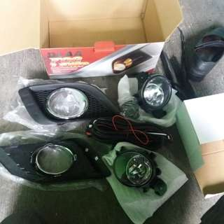 foglamp all new livina