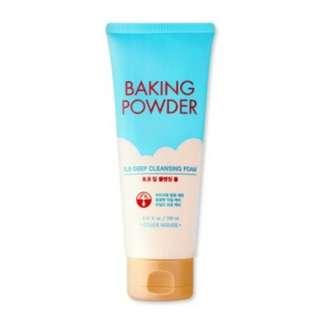 Free Mail Etude House Baking Powder BB Deep Cleansing Foam 160ml 160 ml