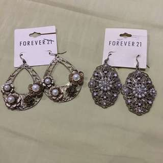 F21 Dangling Earrings