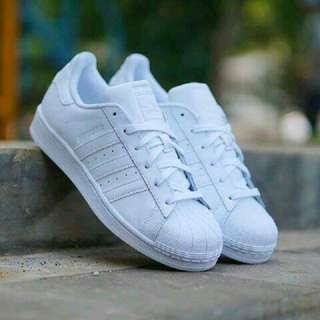 Adidas Superstar Triple White
