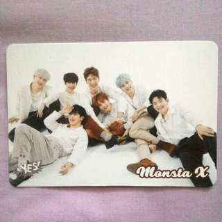 Monsta X yescard 已絕版