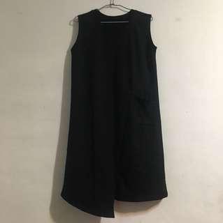 ✨特殊設計質感黑背心洋裝