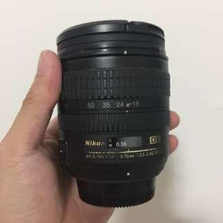 Nikon 18-70 AF-S F3.5-4.5 DX