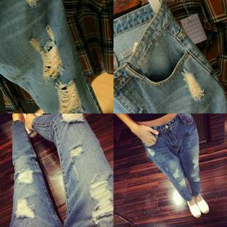 🆕RIPPED JEANS🆕