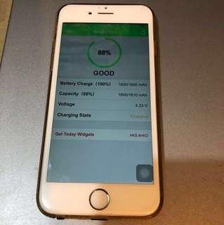 IPhone 6 64gb gold 金色