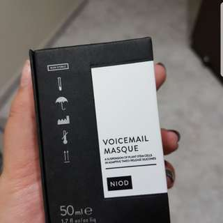 BNIB NIOD VOICEMAIL MASQUE 50ML