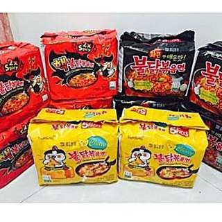 Samyang Spicy Noodle